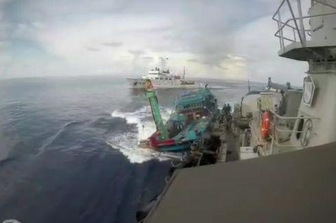 5 Fakta Kapal TNI AL Ditabrak Kapal Vietnam, Susi Akan Tenggelamkan Kapal hingga Anggota TNI Tak Terprovokasi