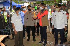Kepala BNPB Ingatkan Pengungsi Erupsi Gunung Ile Lewotolok Patuhi Protokol Kesehatan Covid-19
