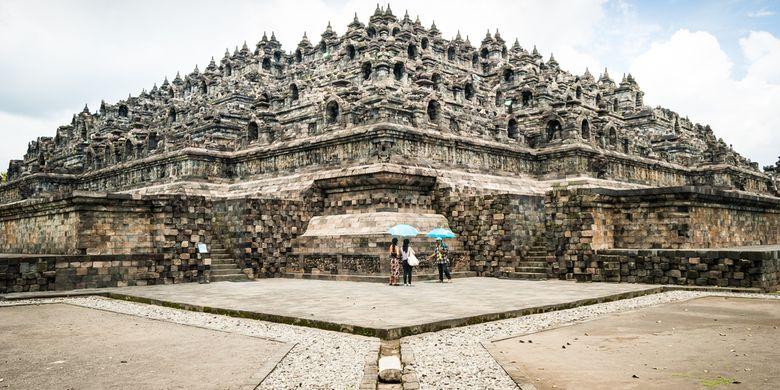Hmmm, Jateng di Rumah Saja, Candi Borobudur Tutup 67 Februari