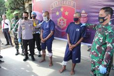 Ratusan Kali Merampok, 2 Orang Berseragam TNI Ditangkap di Bandung