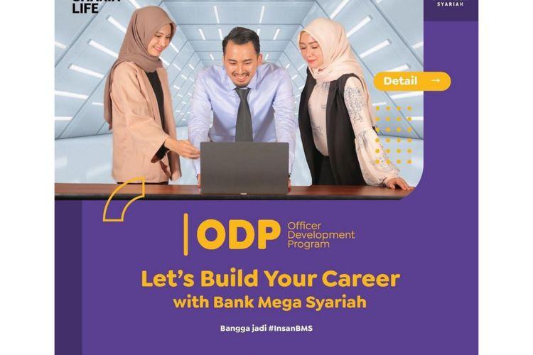 Bank Mega Syariah membuka lowongan kerja ODP.