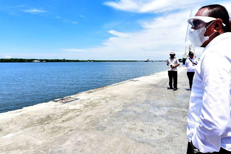 Gubernur Sumatera Utara Edy Rahmayadi ingin menata Belawan, kawasan pesisir yang berada di utara Kota Medan ini seperti Tanjung Perak, Senin (26/10/2020)