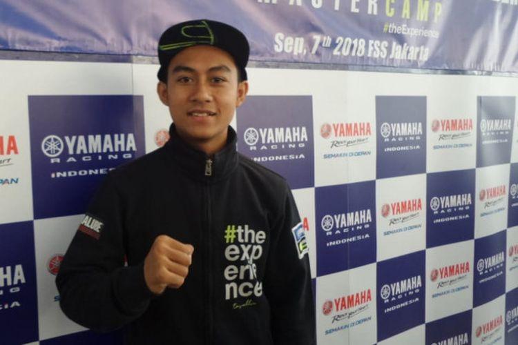 Pebalap muda Yamaha Indonesia, Muhammad Faerozi.