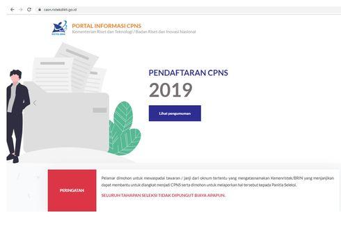Pelamar CPNS Ristek/BRIN Boleh Pilih Tempat Tes, Ini 33 Lokasinya...