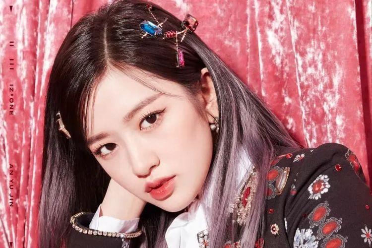 Mantan member girl group IZ*ONE An Yu Jin