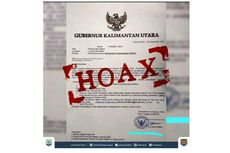 [HOAKS] Surat Permohonan Bantuan Dana Pengamanan Pilkada dari Gubernur Kaltara