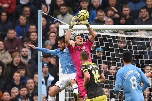 Manchester City Vs Southampton, Gol Kyle Walker Menangkan Tuan Rumah