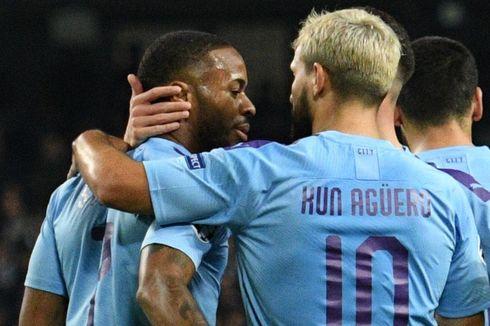 Manchester City Vs Atalanta, 5 Aksi Sterling Bawa City Menang 5-1