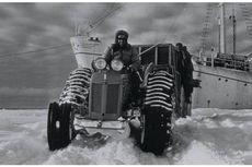 4 Januari 1958, Traktor Bantu Edmund Hillary Mencapai Kutub Selatan