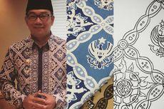 Ini Dua Motif Batik Karya Ridwan Kamil,