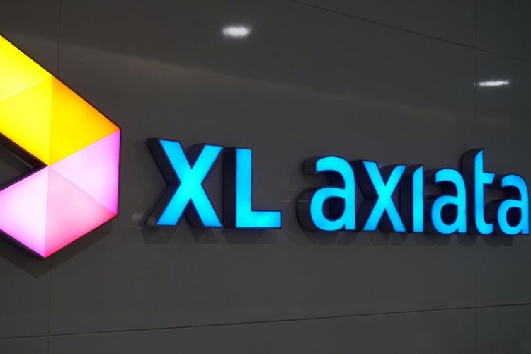 Logo XL Axiata.