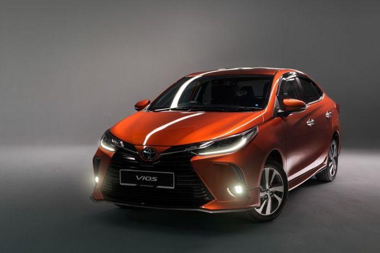 Ilustrasi Toyota Vios terbaru.