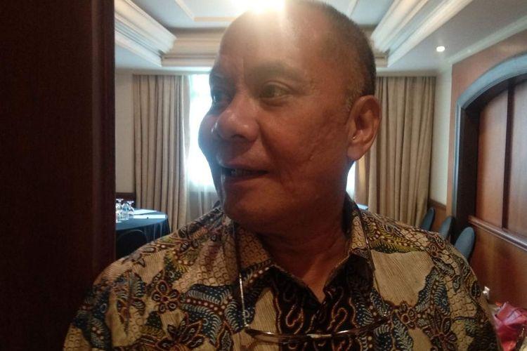 Presiden Direktur PT Palyja Robert Rerimassie dalam journalist workshop PT Palyja, Yogyakarta, Sabtu (27/4/2019).