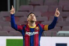 Jumlah Gol Lionel Messi