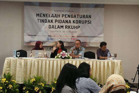 KPK Sarankan Tindak Pidana Korupsi Tak Diatur RKUHP