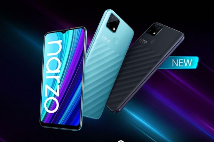 Realme Narzo 30A adalah ponsel gaming dengan banderol harga murah.