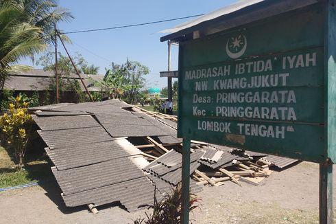 Sekolah Ambruk di Lombok Tengah Dapat Bantuan Rp 12 Juta