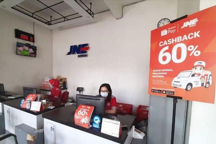 ShopeePay Gandeng JNE, Pelanggan Bisa Dapat Promo Cashback Hingga 60 Persen