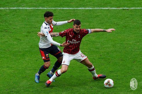 AC Milan Vs Genoa, Gol Ibrahimovic Gagal Selamatkan Rossoneri dari Kekalahan