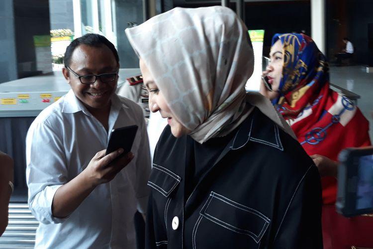 Istri Setya Novanto, Deisti Astriani Tagor di Pengadilan Tipikor Jakarta, Selasa (4/9/2018).