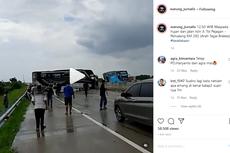 Bus Tergelincir di Jalan Tol, Penyebabnya Bisa Jadi karena Ban Selip