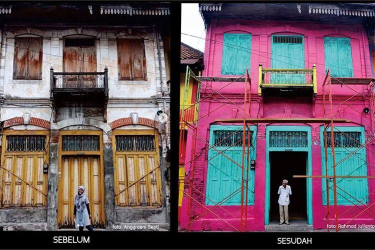 Pemerintah Kota Surabaya telah menetapkan revitalisasi kawasan kota tua tepatnya di Jalan Panggung dan Jalan Karet.