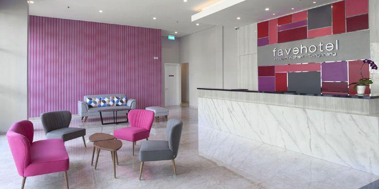 favehotel Hasyim Ashari yang beralamat di Jalan Hasyim Ashari, Cipondoh, Tangerang, Banten diresmikan Rabu (10/7/2019). Ini merupakan favehotel ke-53 di Indonesia dan favehotel kedua yang dibuka di Tangerang.