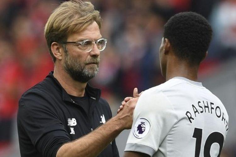 Pelatih Liverpool, Juergen Klopp, mengutarakan kekagumannya terhadap Marcus Rashford dan perjuangan striker Manchester United untuk memperjuangkan ketahanan makanan bagi anak-anak rentang di Inggris Raya.