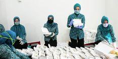 Program Gasibu di Gunung Putri Bogor Bagikan 500 Nasi Bungkus Setiap Hari