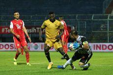 HT Bhayangkara FC Vs Madura United: Ezechiel Bawa The Guardian Unggul