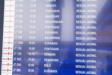 Penerbangan Domestik Lion Air ke Sejumlah Kota di Kalimantan Terpantau Sesuai Jadwal