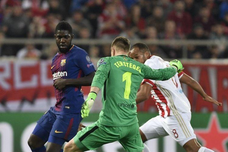 Jelang Laga Alaves Vs Barcelona, Ter Stegen dan Umtiti Sudah Kembali Berlatih