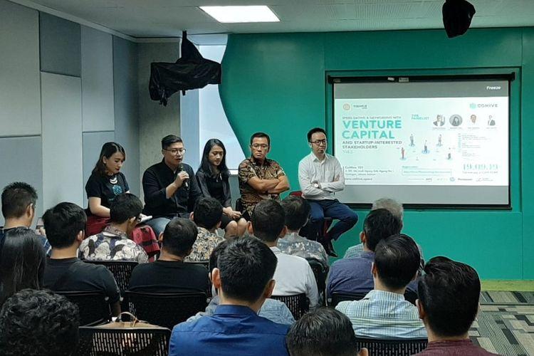 Acara CoHive X GK-PnP Speed Dating and Talk Show yang diadakan pada Kamis (19/9/2019) di CoHive 101, Mega Kuningan, Jakarta.
