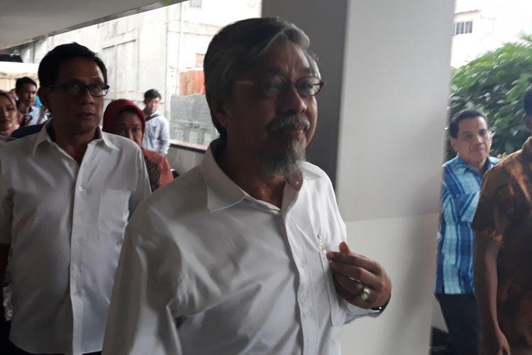 Gubernur nonaktif Sulawesi Tenggara Nur Alam di Pengadilan Tipikor Jakarta, Rabu (8/3/2018).