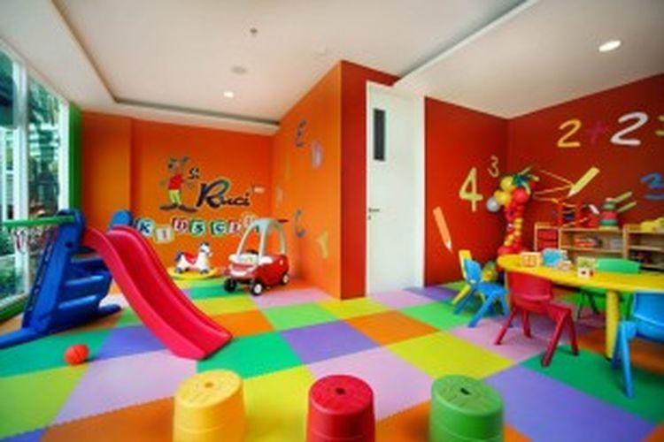 Ruang kids club di Aston Bogor Hotel & Resorts.