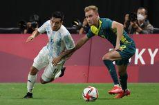 Hasil Argentina vs Australia - Bermain 10 Personel, Albiceleste Terkapar