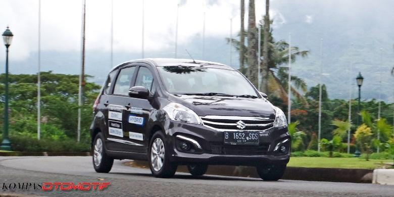 Uji Konsumsi Suzuki Ertiga Diesel Hybrid