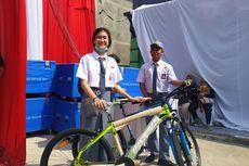 Datang ke Bekasi, Iriana Bikin Kuis Berhadiah Sepeda dan Laptop