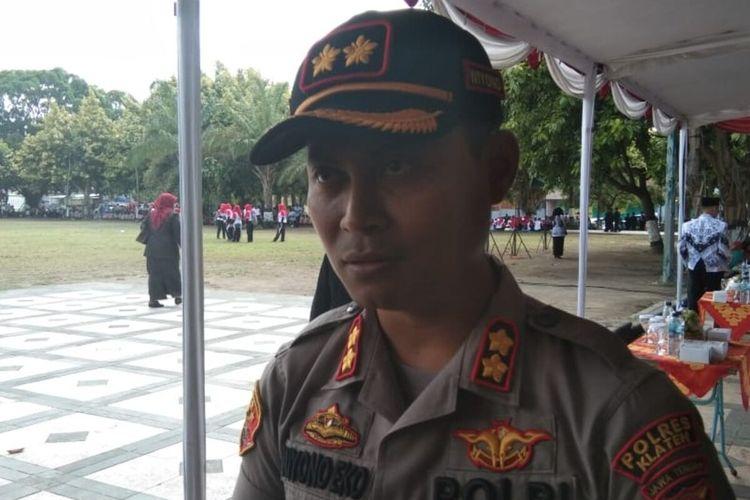Kapolres Klaten, AKBP Wiyono Eko Prasetyo.