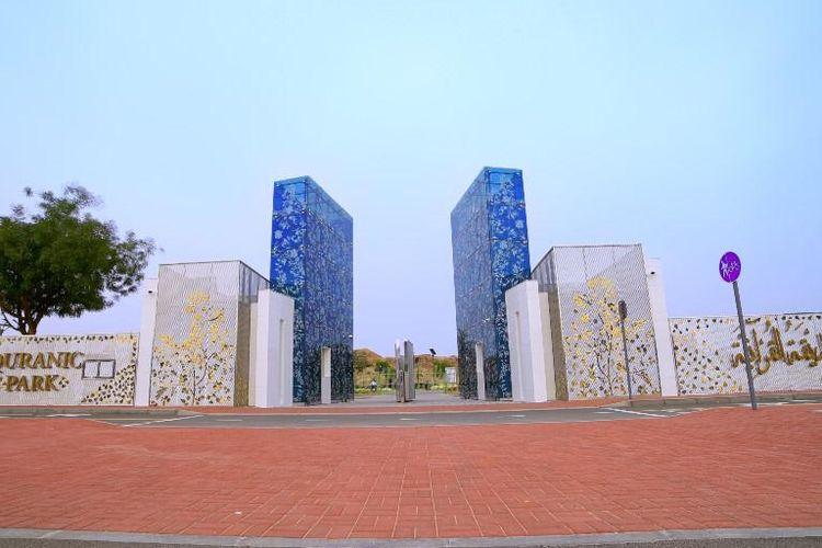 Quranic Park di Dubai.