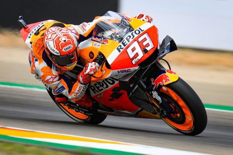 Marquez raih pole position di MotoGP Aragon 2019