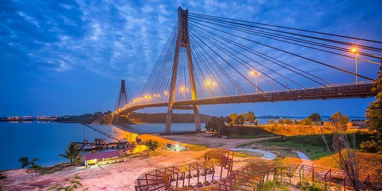 Barelang Bridge in Batam island.