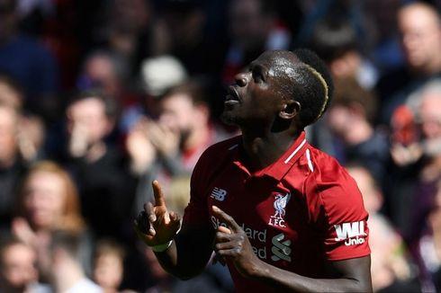 Norwich Vs Liverpool, Gol Ke-100 Sadio Mane di Inggris