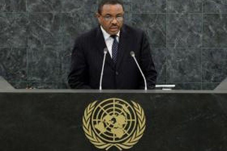 Perdana Menteri Ethiopia Hailemariam Desalegn