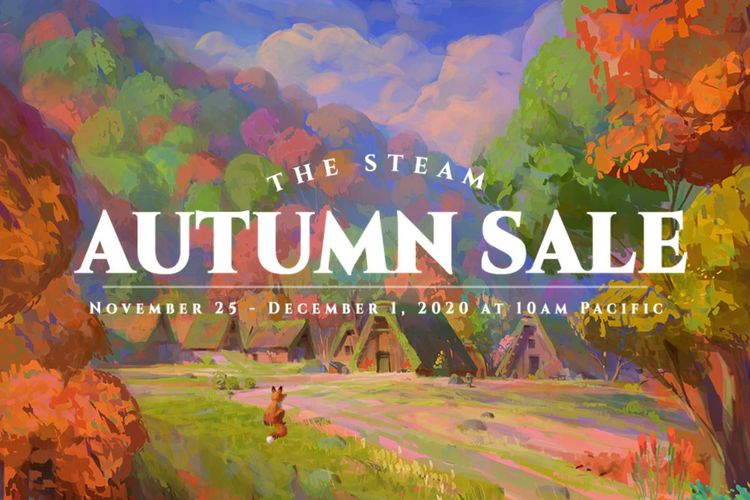 Poster Steam Autumn Sale.
