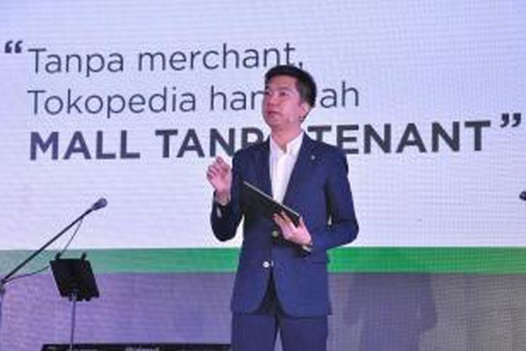 Pendiri dan CEO Tokopedia.com, William Tanuwijaya