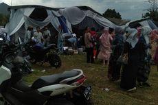Angin Puting Beliung Robohkan Tenda Kawinan di Depok, Mempelai Pingsan