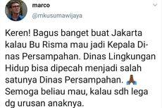 6 Fakta Twit Anggota TGUPP Anies Baswedan Dinilai Serang Risma, Dilatarbelakangi Kunjungan Kerja hingga Akan Dibawa ke Ranah Hukum