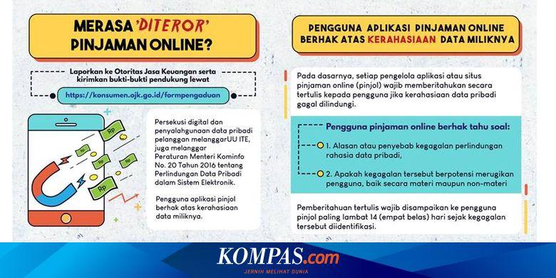 Kominfo Minta Masyarakat Tak Mau Diteror Aplikasi Pinjaman Online