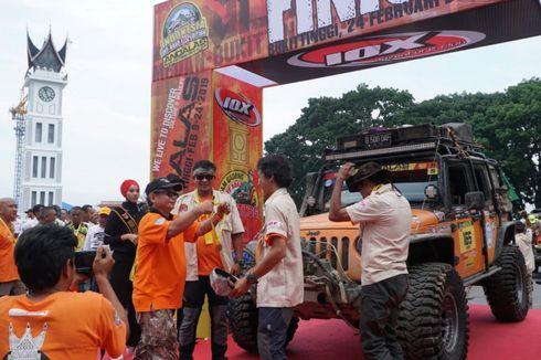 IOX 2019 Andalas, Para Offroader Tiba di Garis Finis Bukit Tinggi